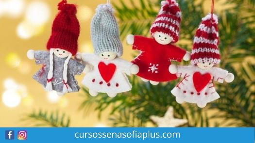 Curso de confección de muñecos navideños Sena Sofia Plus