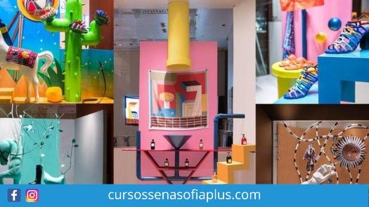 Curso Sena Sofia Plus de vitrinismo, Diseño y producción creativa